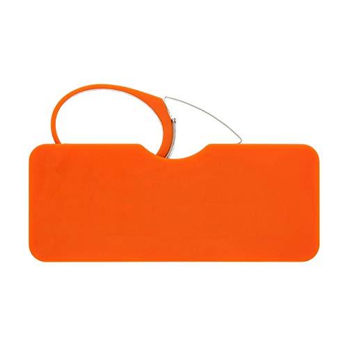 Didinsky Occhiali da Lettura senza Astine e Senza Montatura. Occhiali da vista per uomo e donna vintage. Occhiali da riposo. Orange +2.0 – ORSAY