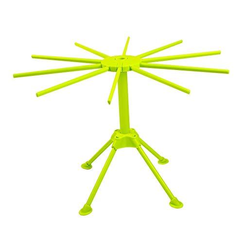 Faltbares Nudeltrockengestell zum Aufhängen von Nudeln, Spaghetti-Trockner, Grün