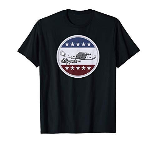 Clipper 314 Flying Boat Tシャツ