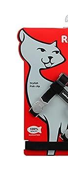 Red Dingo Laisse/Harnais pour Chat Noir Tour de Cou 21 à 35 cm Poitrail 27,5 à 47,5 cm