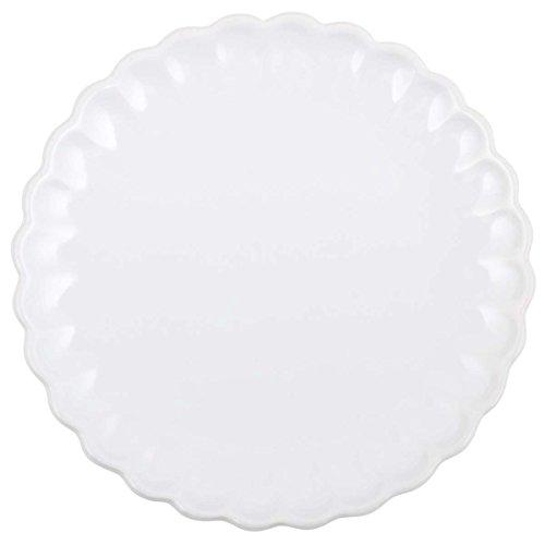 IB Laursen - Teller/Kuchenteller/Dessertteller - Mynte Pure White - weiß - Keramik - Ø 19,5 cm