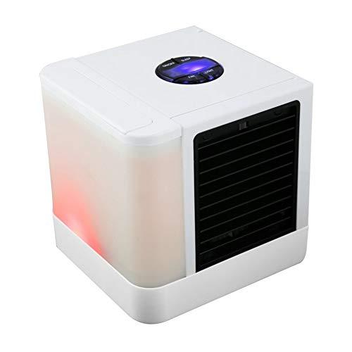 OKAT Mini Air Cooler, Mini Ventilatore Desktop Portatile, per Ufficio Casa
