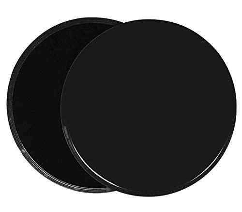 JGR SELECT Discos Deslizantes Fitness Core Sliders - 2 Discos Doble Cara Deslizantes para Hogar, Yoga, Fitness, Pilates, Abdominales, Ejercicios de Cuerpo, Crossfit