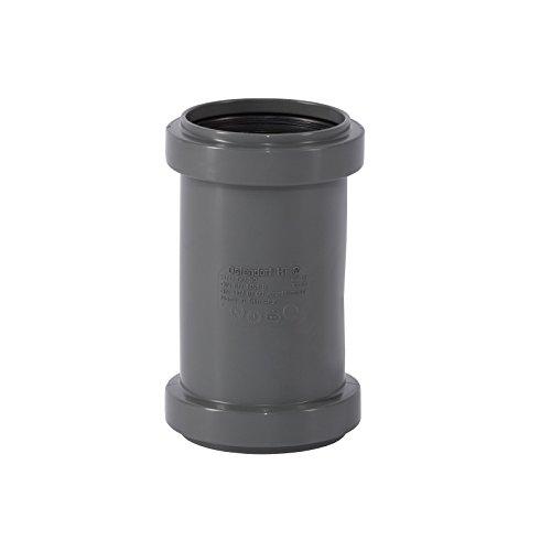 Ostendorf HTsafe Überschiebmuffe DN 50 mm HT-Rohr