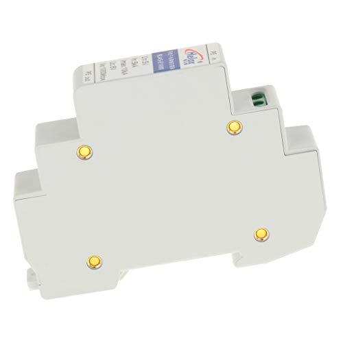 B Blesiya 1 Pieza Dispositivo de Protección contra Sobretensiones para Proteger Pararrayos Ethernet Hecho de Materiales Bueno