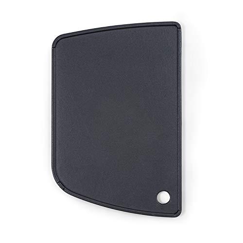Klarstein Parforce Grillplatte - Zubehör für den Parforce One/Duo Gasgrill, durchgehend Glatte Platte, mit Fettablauf, Material: Gusseisen, leicht zu reinigen, schwarz