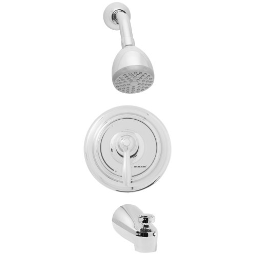 Speakman SM-5030 SentinelPro Thermostatic/Pressure Balanced Tub and Shower Combination, Polished Chrome