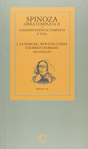 Spinoza - obra completa II: correspôndencia completa e vida: 29