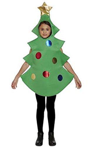 infantil Árbol de Navidad Disfraz - Verde, Children: L