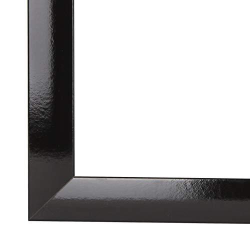 CAPRY PRORSUS 50 mm Cadre Photo 10 x 10 cm Couleur Noir Matt Verre synth/étique antireflet incassable