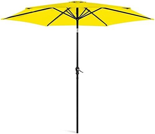 Products 人気 10ft Outdoor Steel Market Crank Umbrella 訳あり Table Patio U