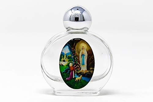 Lourdes Weihwasser Flasche mit Lourdes Wasser.