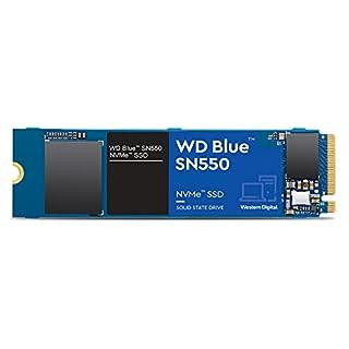 Western Digital 2TB WD Blue SN550 NVMe Internal SSD - Gen3 x4 PCIe 8Gb/s, M.2 2280, 3D NAND, Up to 2,600 MB/s - WDS200T2B0C (B08K4NP5DQ) | Amazon price tracker / tracking, Amazon price history charts, Amazon price watches, Amazon price drop alerts