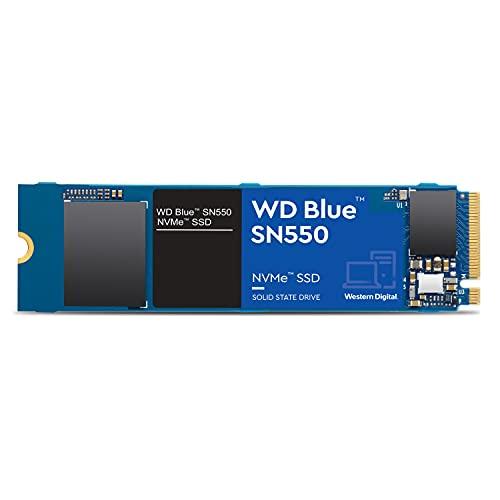 WD Blue SN550 2 TB NVMe SSD, Gen3 x4 PCIe, M.2 2280, 3D NAND