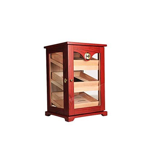 N/B Caja de cigarros, Madera de Cedro importada, Humedad Constante, humidificador, Vitrina de cigarros