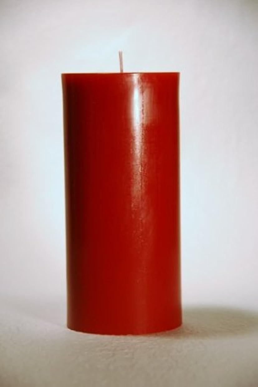 古くなった潤滑する専門ペガサスキャンドル 2?3/4×6ラウンド Xmasレッド-