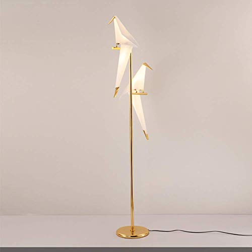 DXXWANG Floor Lamp Reading Decorative Lights,Bedroom Living Room Led- Standing Industrial Arc Light with Hanging Lamp Shade Tall Pole Uplight for Office,B