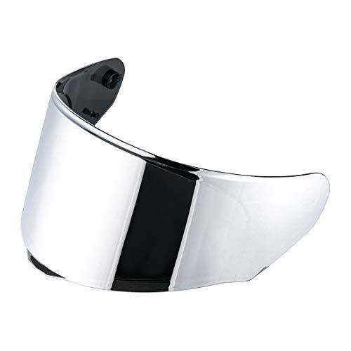 LS2 Assault/Rapid/Stream Pinlock Ready Outer Face Shield (Silver Iridium)