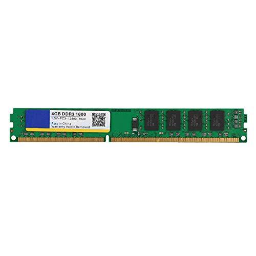 M ugast Memoria RAM, DDR3 1600MHz 4G 240 Pin PC Memoria RAM,