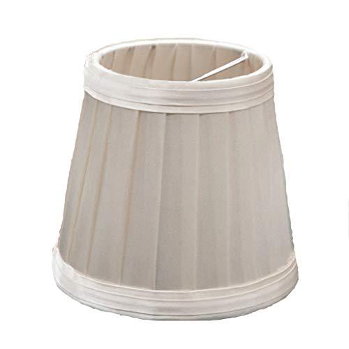 Yellow wang Vintage Plissee Lampenschirm, Tischleuchten Lampenschirm Nachttisch Lampenschirm Wandleuchte Lampenschirme