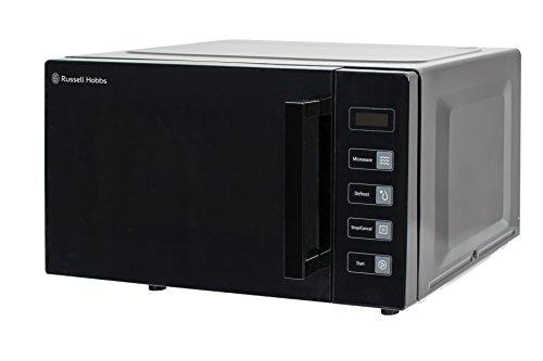 Russell Hobbs RHEM2301B 23L Easi Flatbed Digital 800w Solo Microwave Black [Energy Class e]