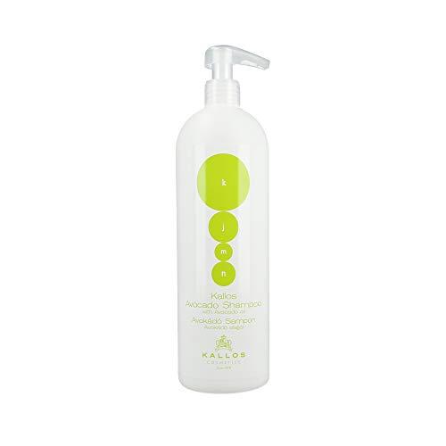 Kallos Kjmn Shampoo With Avocado Oil - Szampon Do Włosów Zniszczonych Avocado 1000 ml