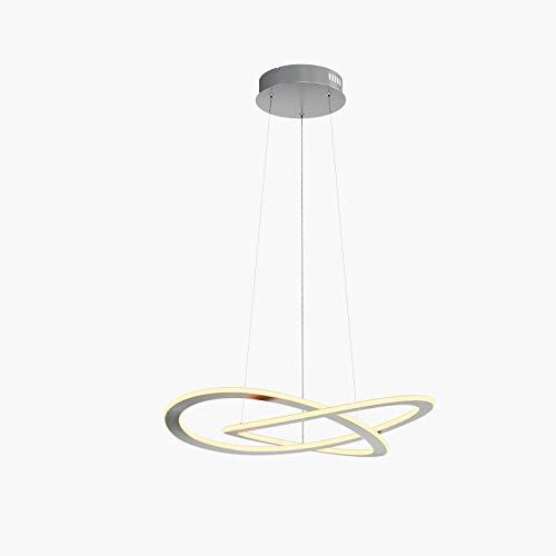 LED Lámpara colgante 'Shona' (Moderno) en Gris hecho de Aluminio e.o. para Salón & Comedor (1 llama, A+) de Lucande   lámpara colgante LED, lámpara colgante LED, lámpara LED, lámpara de techo, lámpara