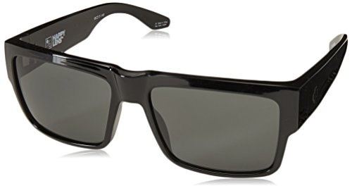 Spy Optic Cyrus Sunglasses, Black/Happy Gray/Green, 58 mm