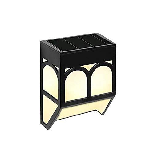 Topwor Luci Solari Applique Solari Giardino Decorazione LED Lampada Solare RGB 7 Colori Faretti LED Esterno Solari Impermeabile Luci Solari LED Esterno Giardino