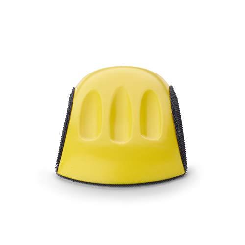 Wabrasive - Bloque de lija con cierre de velcro para discos de lija de 150 mm   Adecuado para trabajos de lijado con discos abrasivos de velcro