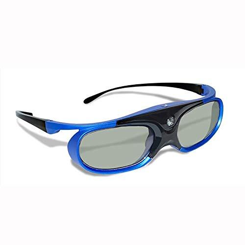 3D-Brille, Heimkino 3D-Brille Für Filme Projektor-Für Benq Optoma Dell Mitsubishi Samsung Vivitek Acer NEC Sharp Viewsonic & Endless Others,Blau