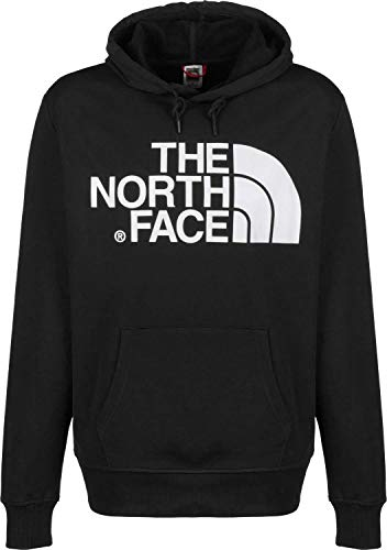 The North Face Uomo Felpa con Cappuccio Standard Pullover, Nero, XXL