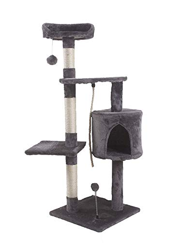 Saving Plus Cat Scratching Post Scratcher Tree Activity Toy Pet Playing...