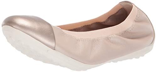 Geox Mädchen JR PIUMA BALLERINE A Geschlossene Ballerinas, Beige (Beige C5000), 30 EU