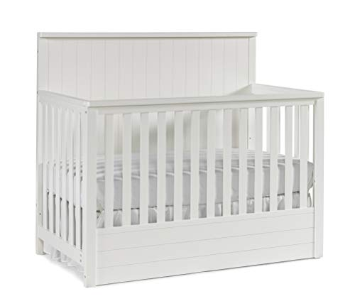 Best Deals! Ti Amo Bradlee Convertible Crib Snow White