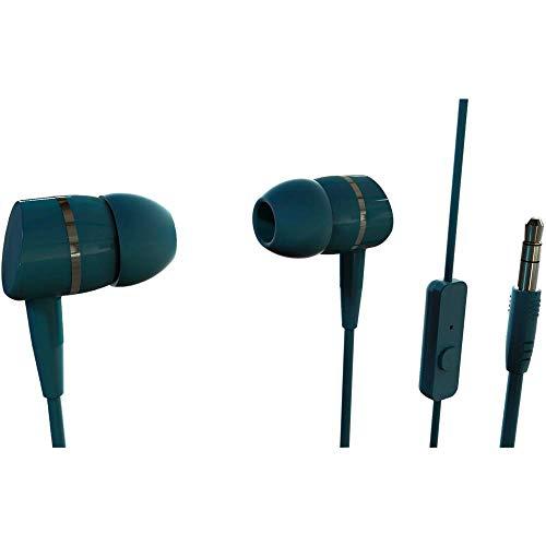 Vivanco Smartsound Dentro de oído Binaural Alámbrico Azul - Auriculares (Alámbrico, Dentro de...