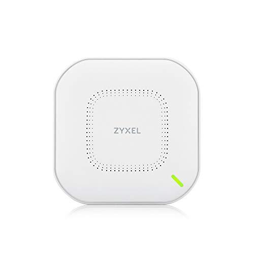 Zyxel Echter WiFi 6 AX1800 WLAN-AP (802.11ax Dual-Band), 1,77 Gbit/s mit Quad-Core-CPU und Dual 2x2 MU-MIMO-Antenne, verwaltbar über Nebula App/Cloud oder Standalone [NWA110AX]