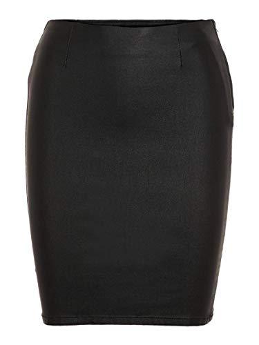 PIECES 17092820 Falda, Negro (Black Black), X-Small para Mujer