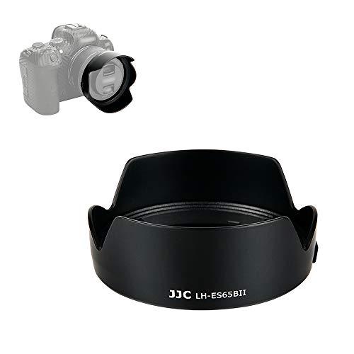 JJC Parasol para Objetivo de Objetivo Canon RF 50 mm F1.8 STM + EOS R R5 R6 RP Ra, sustituye a Canon ES-65B
