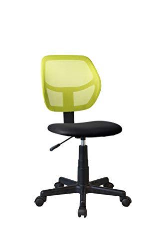 N/A Kids Office Chair River - Silla de oficina, color verde