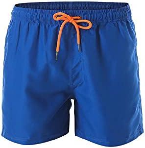 DFLYHLH Men's Quick-Drying Swimwear Swimming Trunks Beach Board Shorts Running Sports surf Shorts