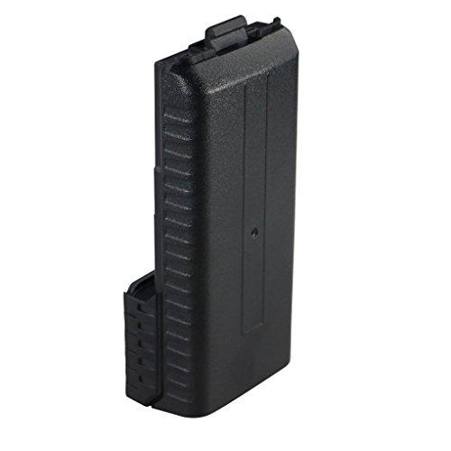 Guangcailun Caso 3800mAh batería 6xAA Shell Negro para Radio portátil de Dos vías walkie Talkie transmisor-Receptor de Baofeng UV-5R UV-5RE Plus TYT TH-F8