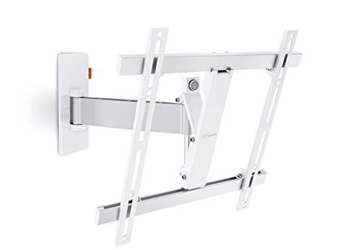 Vogel's WALL 2225 TV-Wandhalterung für 81-140 cm (32-55 Zoll) Fernseher, 120° schwenkbar und neigbar, max. 20 kg, Vesa max. 400 x 400, weiß