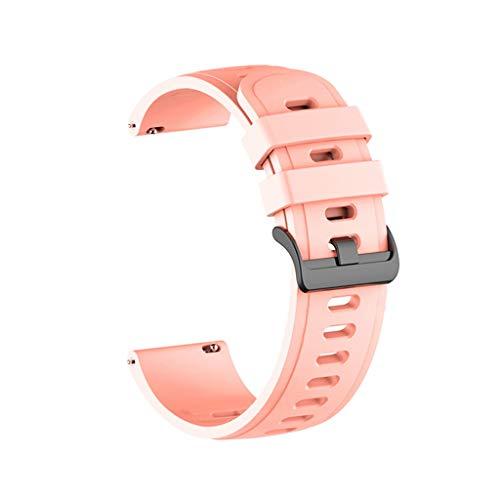 Supefriendly Correa de silicona para reloj Xiao-mi Watch Color Sports Editon