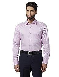 Raymond Mens Plain Regular Fit Formal Shirt