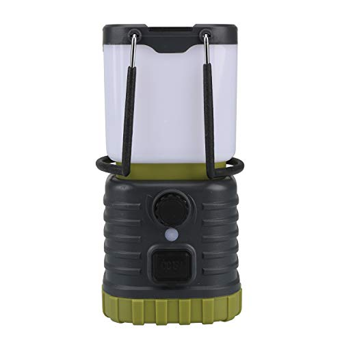 Tahoe Trails LED Camping Lantern Rechargeable, Power Bank, 2000mAh, Dimmable, Waterproof Tent Light, IPX4, Anti-Glare, Perfect for Tent, 200 Lumen, Lantern for Emergency, Hiking, Fishing, Outdoor