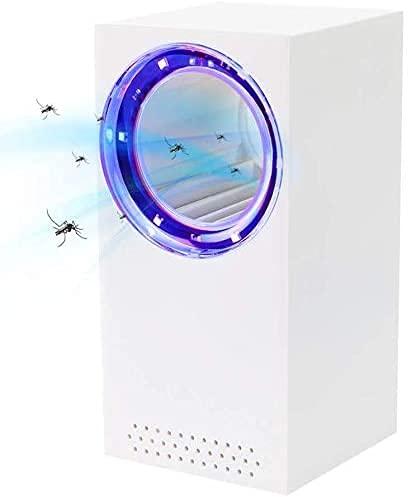 Taiso Mata Mosquitos, Eliminador de Mosquitos con Lámpara UV, Eliminador de Insectos con USB, Succionador Mata Mosquitos con Luz de 180° Eliminador de Insectos Voladores para Interiores y Exteriores