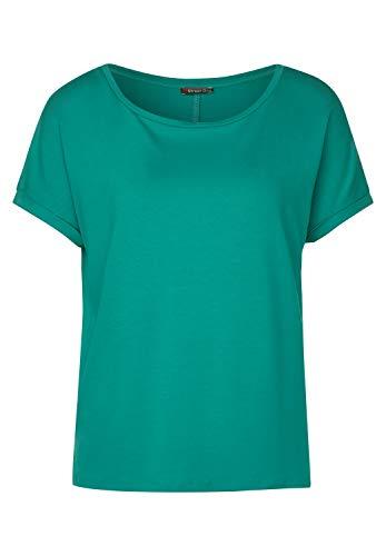 Street One Damen 314895 T-Shirt, Pool Aqua, 40