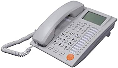 Excelltel PBX Business Phone,Telephone Home,Office Hotel Telephone with Digital Answering System,Speakerphone Caller ID/Call Waiting for PABX (White)