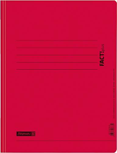 Brunnen 102010620 Schnellhefter FACT!plus (A4, aus Karton) rot